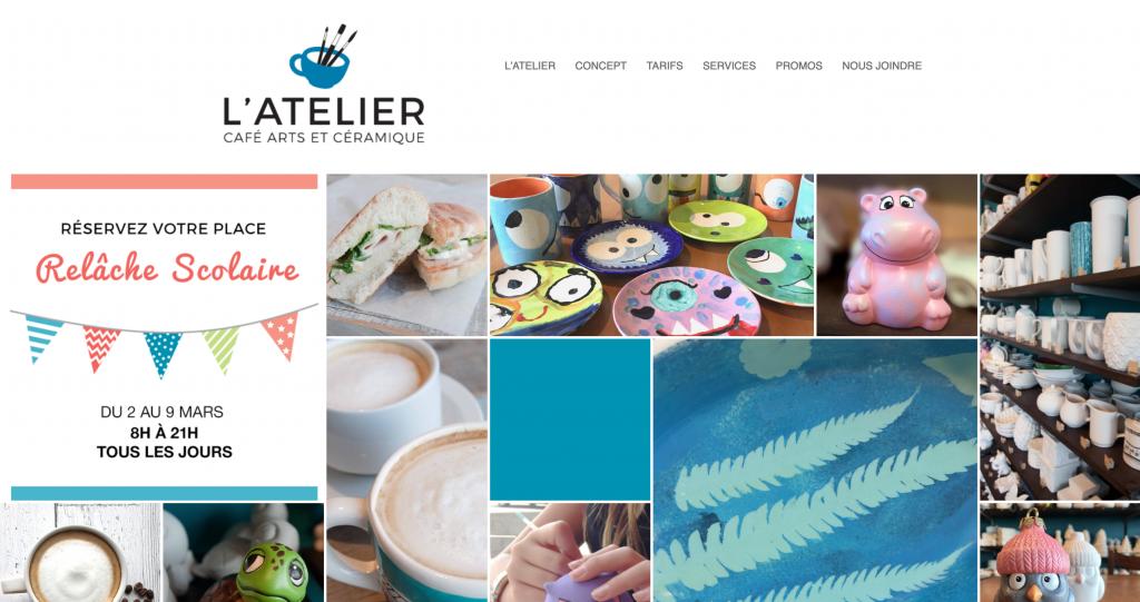 L'Atelier Café Art et Céramique